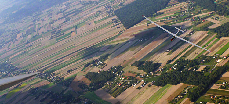 Lot Szybowcem Aeroklub Lubelski